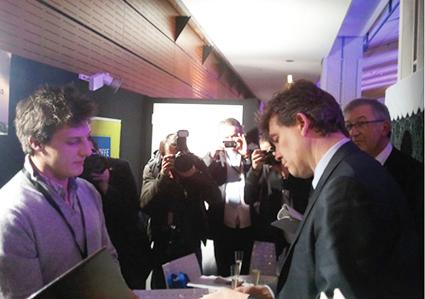 Etienne VANDENHOVE et Arnaud Montebourg