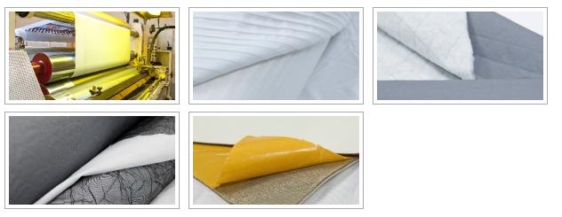 VANDENHOVE, spécialistes de l'ennoblissement textile mécanique. Traitements secs, contre-collage, transfert, adhésivage et découpe de toutes matières souples.